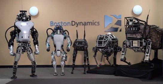 Google продал Boston Dynamics