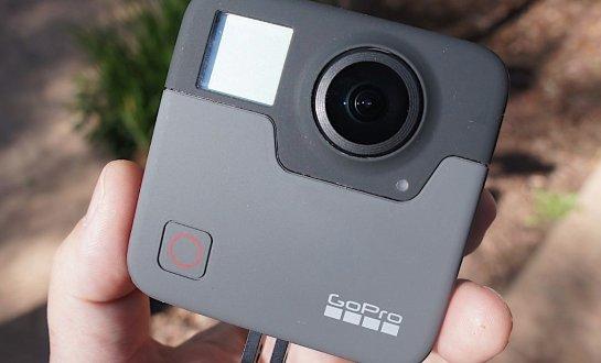 Фото 5K VR-камеры GoPro Fusion