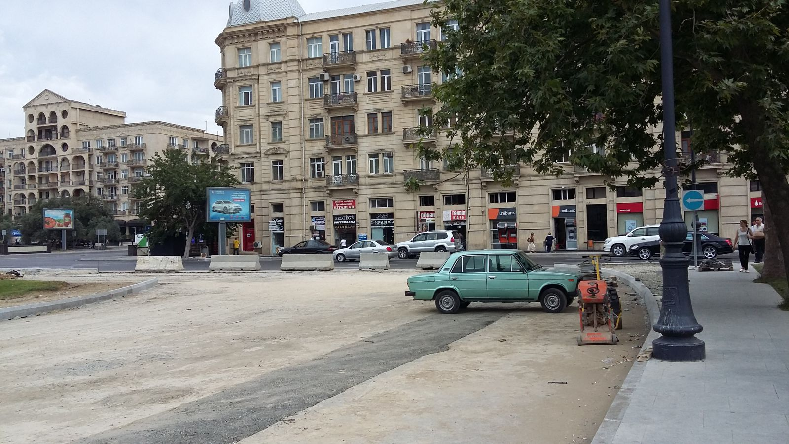 Восстанавливается круг Физули у Бешмяртябя — ФОТО – ЭКСКЛЮЗИВ