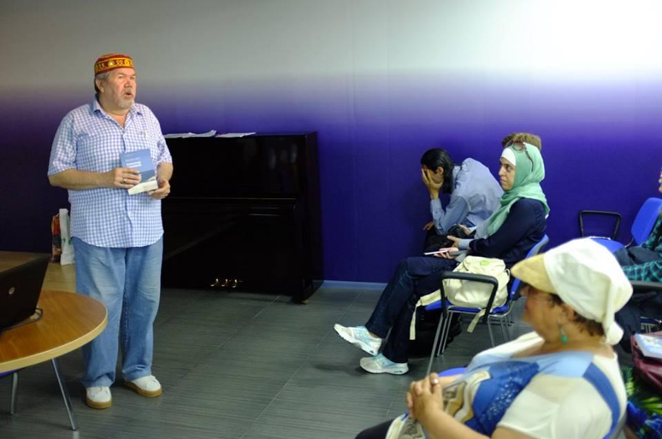 В Баку прошла творческая встреча с писателем-фантастом Александром Хакимовым – ФОТО