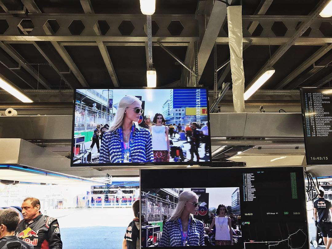Алена Шишкова о Гран-при Азербайджана «Формула-1»: «Навсегда в моей памяти…» — ФОТО