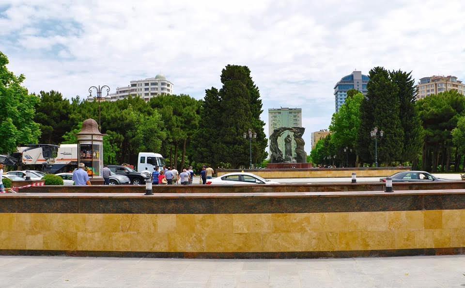 На одном из проспектов Баку открыт новый пешеходный переход – ФОТО — ВИДЕО