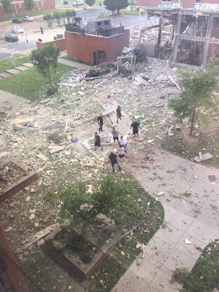 В университете американского штата Кентукки прогремел взрыв — ФОТО