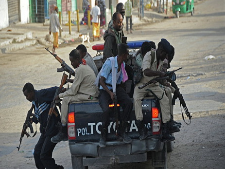 При взрыве в столице Сомали погибли не менее девяти человек