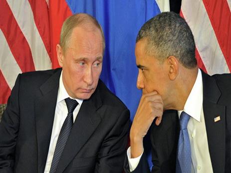 Путин заявил, что был в постоянном контакте с Обамой по Украине
