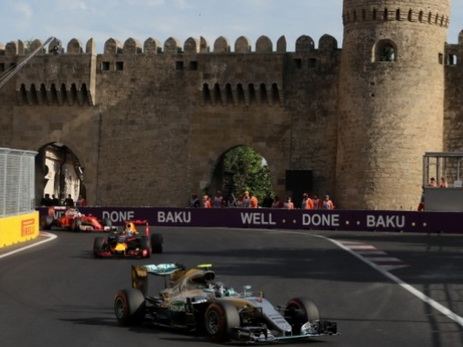 Предварительное расписание Гран-при Азербайджана