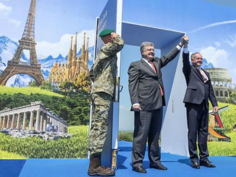 Крах Украины: является ли безвизовый режим с Европой панацеей от всех без?