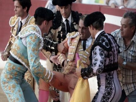 Во Франции бык убил известного испанского тореадора