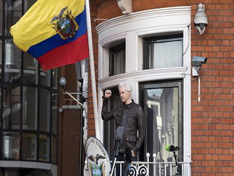 Ассанж находится в «заточении» в посольстве Эквадора в Лондоне уже пять лет