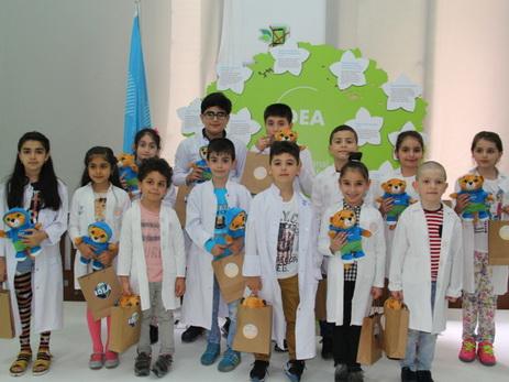 В рамках проекта «Экологическая лаборатория для детей» проведен очередной тренинг