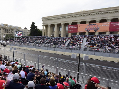Гран-при Азербайджана: билеты на трибуну «Bulvar» полностью раскуплены