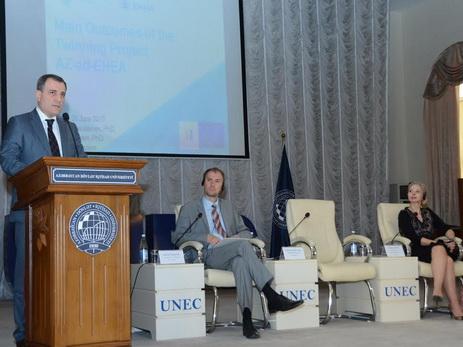 В Баку обсудили повышение качества высшего образования — ФОТО