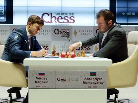 Шахрияр Мамедъяров проиграл Карлсену, но обыграл Карякина в Париже