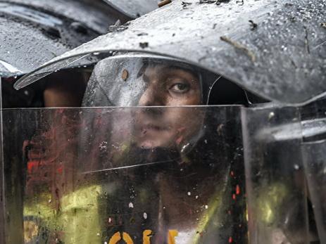 В Венесуэле в ходе протестов погиб один человек