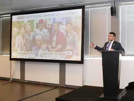 ABAD представлен на «Форуме государственных служб ООН» - ФОТО