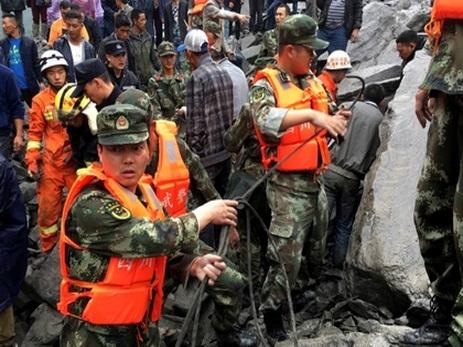 Число пропавших без вести после схода оползня в Китае увеличилось до 141