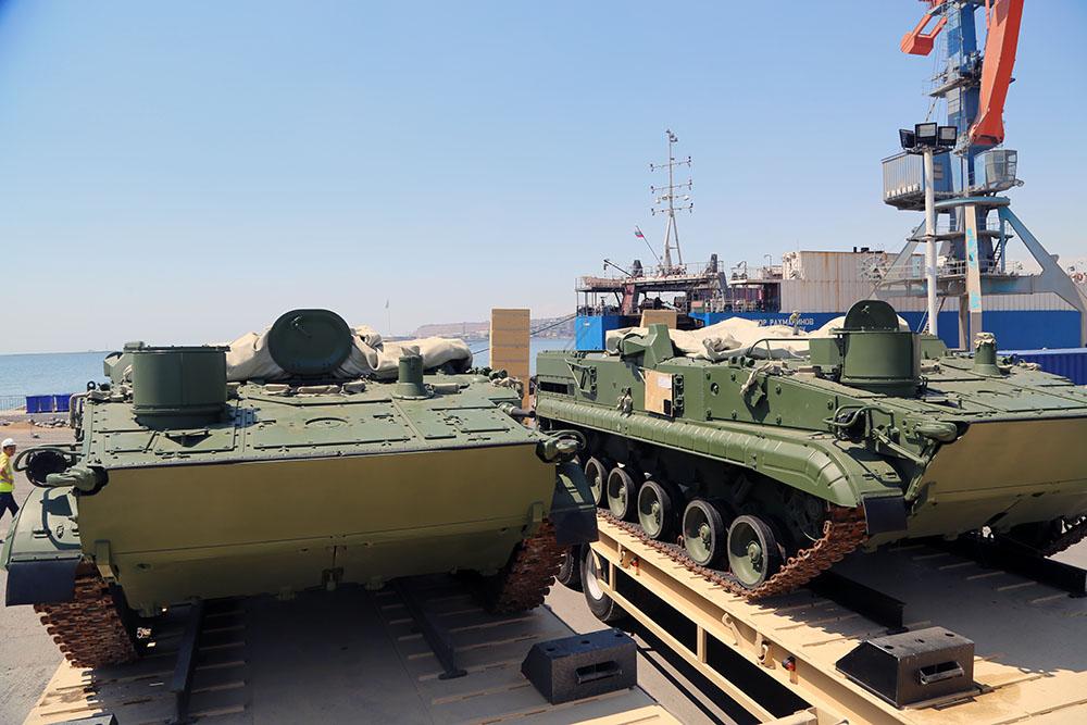 В Азербайджан доставлена очередная партия новейшего российского вооружения – ФОТО - ВИДЕО