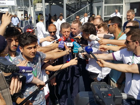 Дмитрий Козак о Гран-при Азербайджана: «Спасибо бакинцам за терпение — оно оправдывает себя»