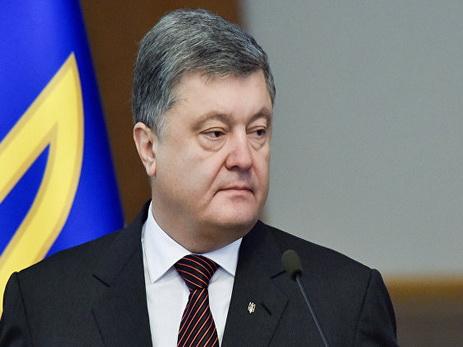 Порошенко заявил, что речи о поставках из США летального оружия пока нет