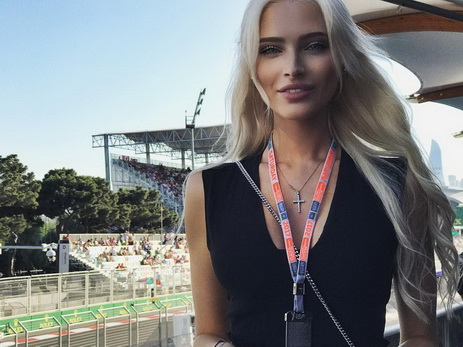 Алена Шишкова: «Salam, Baku» — ФОТО