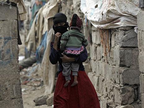 В Йемене за два месяца от холеры погибли более 1,3 тысячи человек