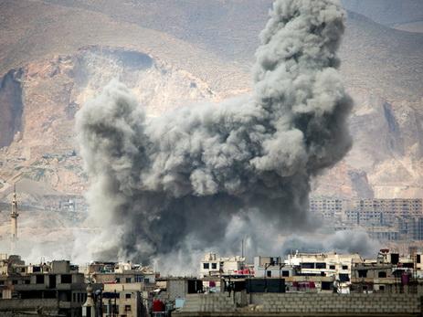 В Дамаске на армейском пункте досмотра прогремел взрыв