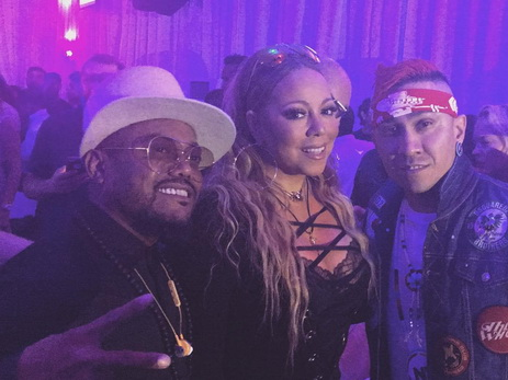 Мэрайя Кери и участники The Black Eyed Peas на after-party Гран-при Азербайджана «Формула-1» — ФОТО