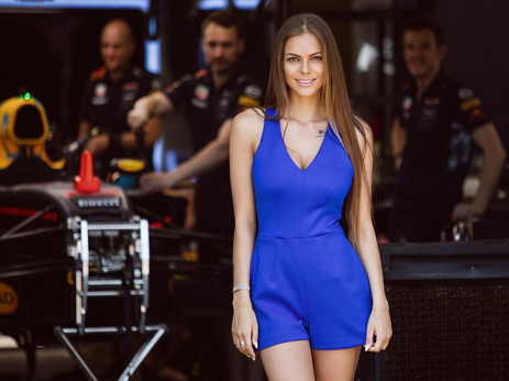 Виктория Одинцова о Гран-при Азербайджана «Формула-1»: «Это очень волнительно…» — ФОТО
