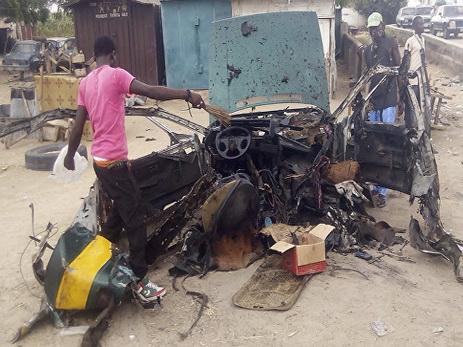 Жертвами взрывов на северо-востоке Нигерии стали шестнадцать человек