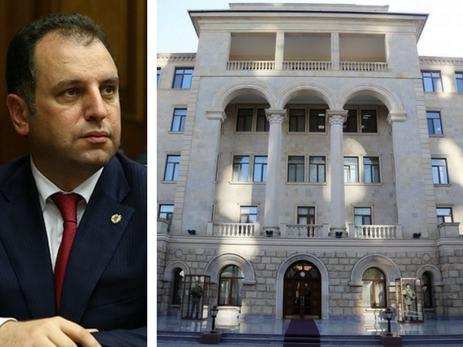 Минобороны Азербайджана о дилетантстве Вигена Саркисяна