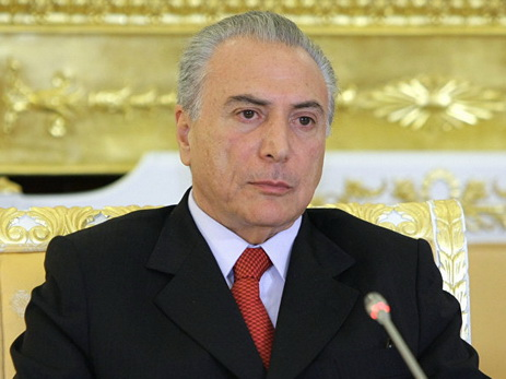 Бразильский парламент получил обвинения против президента Темера
