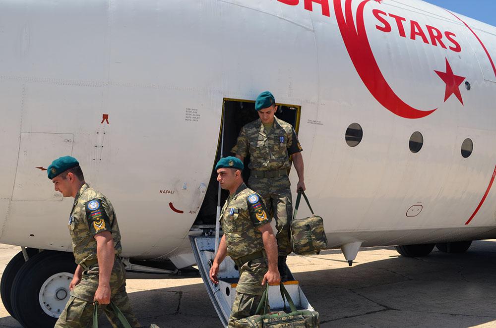 Азербайджанские миротворцы вернулись из Афганистана – ФОТО