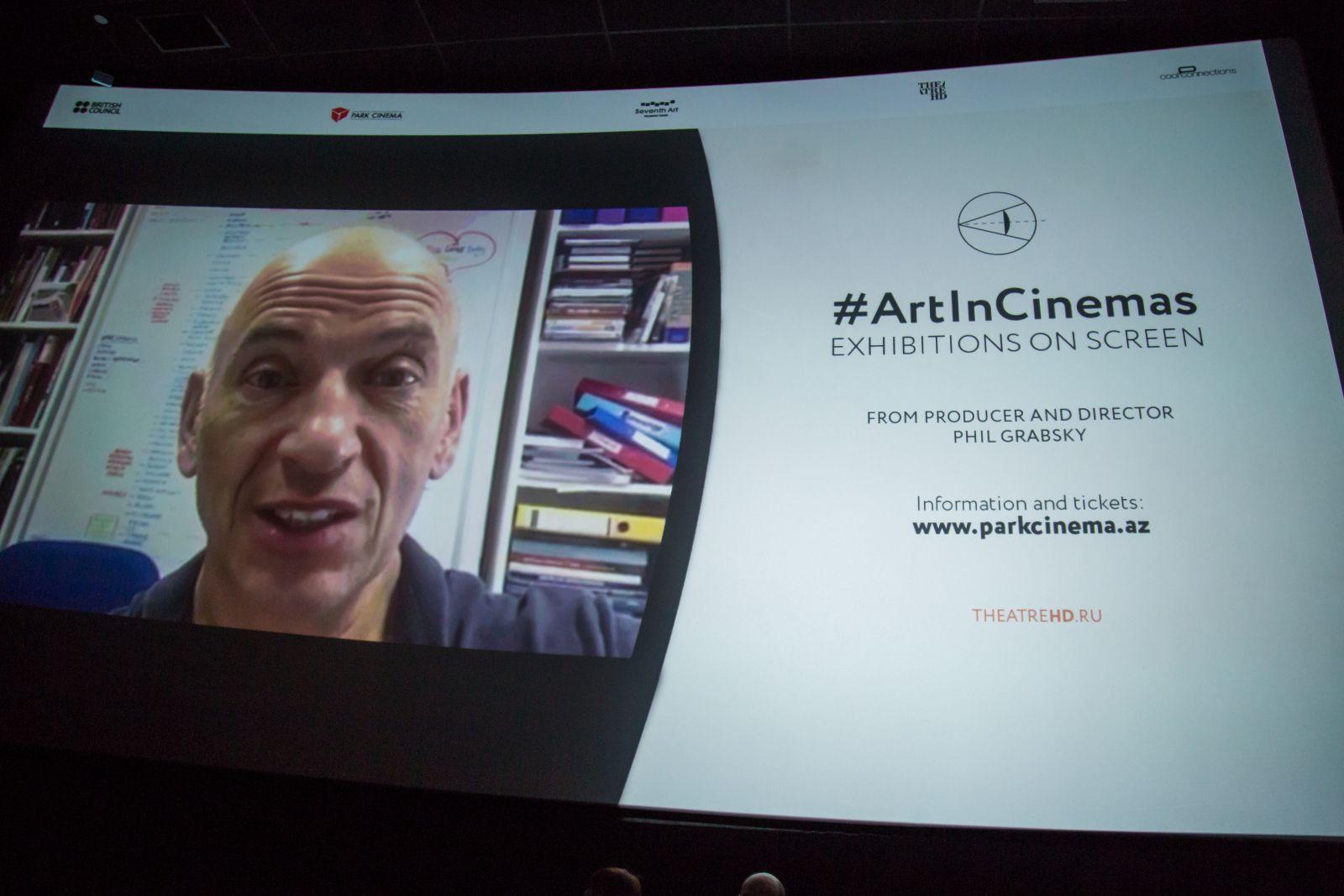 Впервые всемирные выставки на большом экране в Park Cinema – ФОТО – ВИДЕО