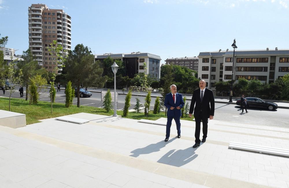 Президент Ильхам Алиев: С точки зрения создания новых парков считаю, что Баку сегодня занимает первое место в мире — ФОТО