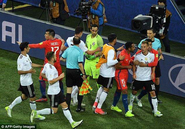 Сборная Германии выиграла у Чили и впервые стала обладателем Кубка конфедераций — ФОТО — ВИДЕО