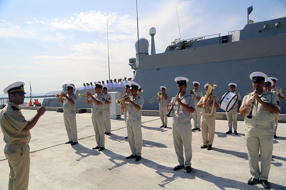 Военные корабли России прибыли в Баку — ФОТО — ВИДЕО