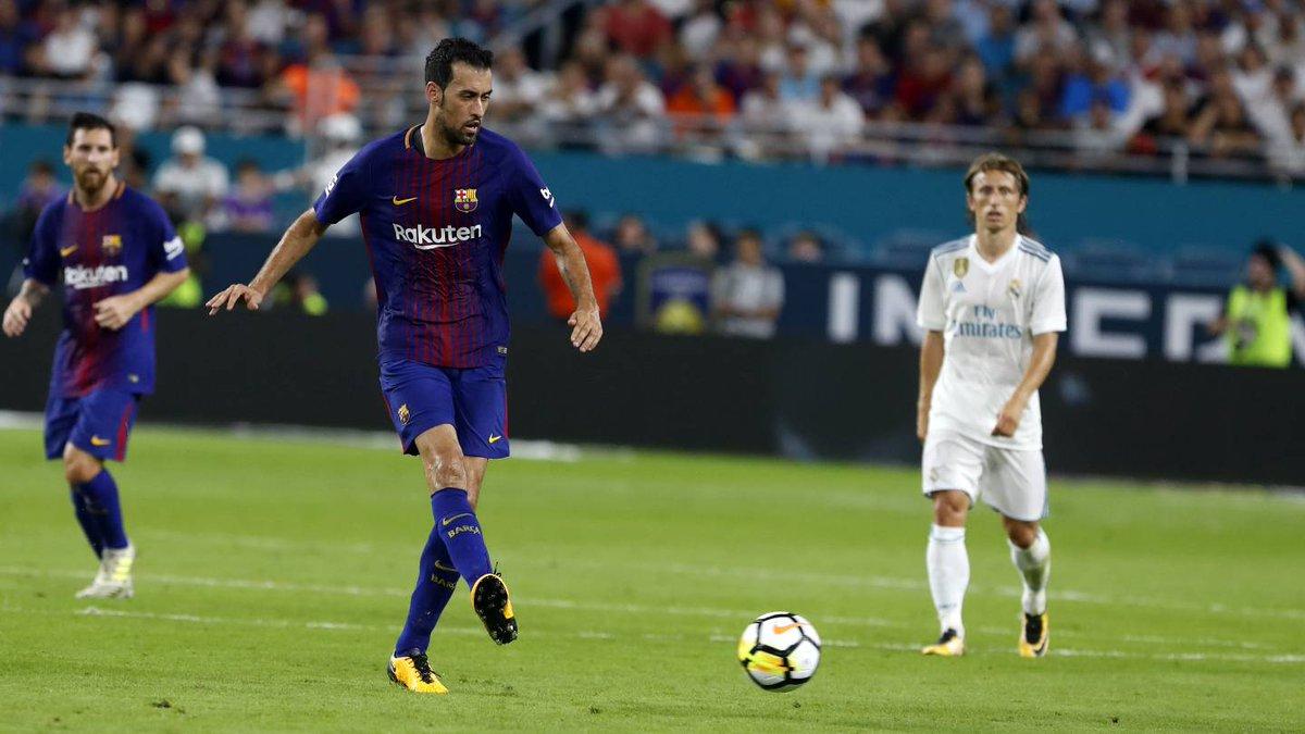 «Барселона» обыграла «Реал» и выиграла Международный кубок чемпионов — ФОТО — ВИДЕО