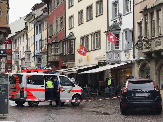 Установлена личность напавшего с бензопилой на людей в Швейцарии — ФОТО — ВИДЕО — ОБНОВЛЕНО