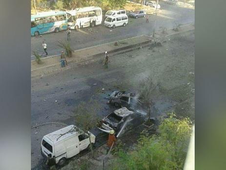 В Дамаске смертник взорвал заминированный автомобиль