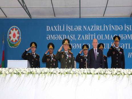 Азербайджанская полиция отмечает 99-ю годовщину создания