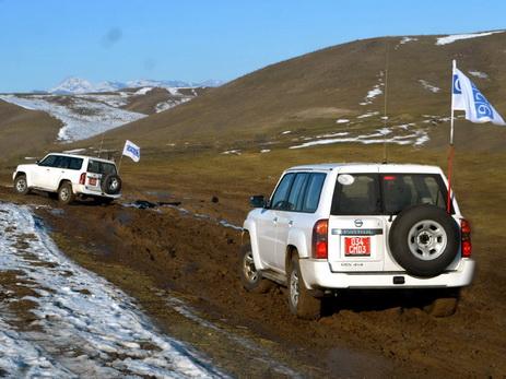 На линии соприкосновения азербайджанских и армянских войск будет проведен очередной мониторинг