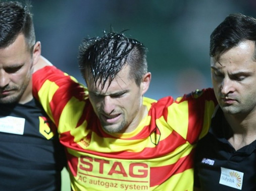 Защитник «Ягеллонии» пропустит матчи с «Габалой»
