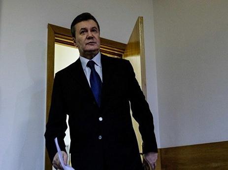 Янукович отзовет своих защитников из судебного процесса по делу о госизмене