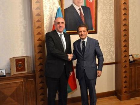 Эльмар Мамедъяров попрощался с послом Италии Джампаоло Кутильо