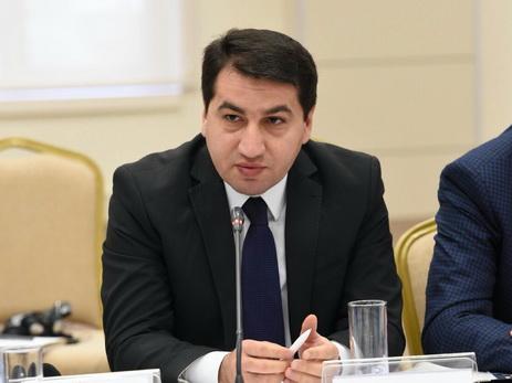 Споуксмен МИД Азербайджана: Армянское руководство пропагандирует ненависть