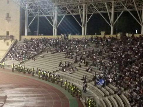 МВД Азербайджана о покинувших стадион болельщиках: «Они пытались играть в грязные политические игры»