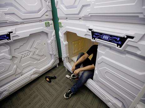 Китайским офисным работникам предложили спать в капсулах в обеденный перерыв