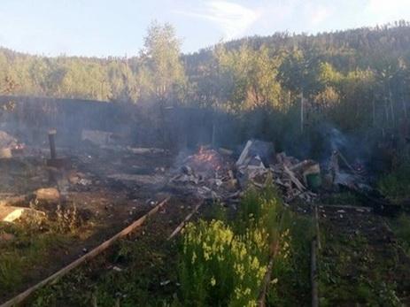 Семь человек погибли при пожаре в Братске