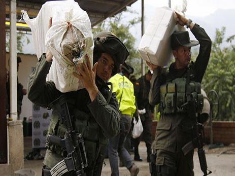 В Эквадоре с начала года конфисковали более 56 тонн наркотиков