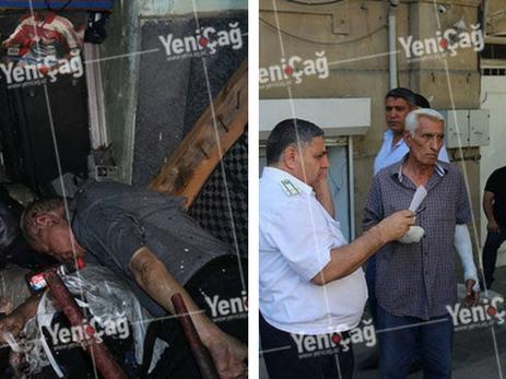 В Баку в жилом доме произошел мощный взрыв, есть жертвы — ФОТО